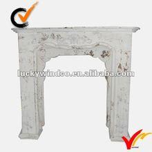 Classic antique fireplace mantel