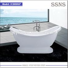 2015 new design freestanding Lucite Acrylic Bathtub TCB006P