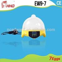2015 Christmas special unique gift for friend automatic mini 7 eggs incubator