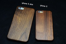 Real Genuine Wood cover case for iphone 6 ; Tree wood cover case for iphone 6 plus nature style