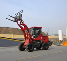 Forklift China Front End Loader,Mini Front End Loader With Pallet Fork