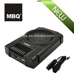 "latest 8"" car audio/car speaker active subwoofer(PB-12)"