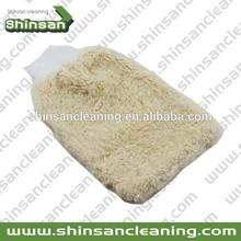S04.040 Synthetic wool microfiber car wash mitt car wash dusting Mitt