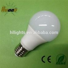 China manufacturer aluminum and PC led bulb e27 7w led bulb