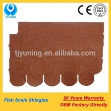asphalt single roof tiles