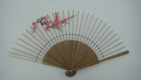 pp hand fan frame for gift
