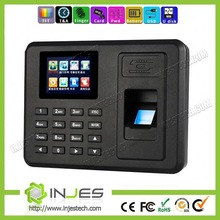 Cheap TFT color screen TCP/IP, USB port employee time record entry with workcode