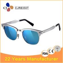 CJRB3507 Latest Aluminum Frame Clubmaster Sunglasses