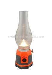 Bright antique glass kerosene lamps/led desk lamp/Camping Lamp