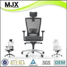 2014 new design China foshan manufacturer modern furniture high back black korean mesh swivel office ergonomic chair