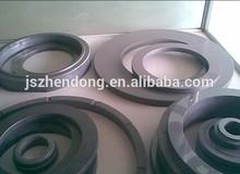 Carburo di silicio in ceramica anello di tenuta, carburo di silicio anello di ceramica, carburo di silicio rondella