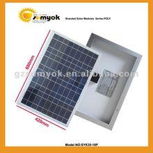 wholesale 18v solar energy panel 35W SYK35-18P
