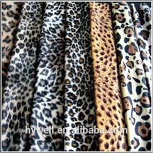 100% Polyester Animal Printing Velboa, Polyester Velvet