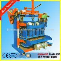 manual hollow block making machine with moderate price/manual block making machine /mini manual concrete block making machine