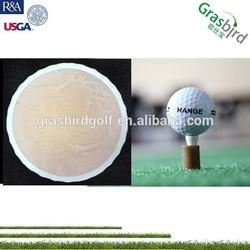 blank logo golf ball hard rubber golf ball manufacturer