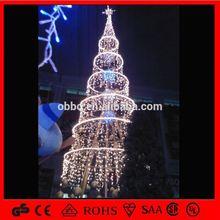 เกลียวนำต้นไม้นำต้นไม้คริสต์มาสใยแก้วนำแสงนำพลังงานแสงอาทิตย์กลางแจ้งแสงของต้นไม้คริสต์มาส