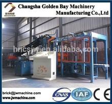 Machine de brique avec contrôle plc, Hydraulique margelle machine de bloc, Haute qualité efficace la machine de bloc