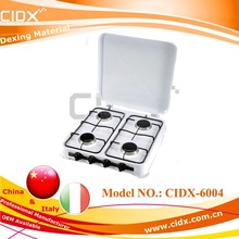 four burners table cooking euro style gas stoves(CIDX-6004)