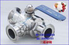 stainless steel sanitary rb ball valve