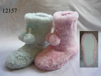 toddlers girls tall winter fur flat indoorslipper boots
