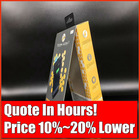 Hexagon Paper Rigid Box, Premium Printed Art Paper Packaging Shipping Carton Manufacturer