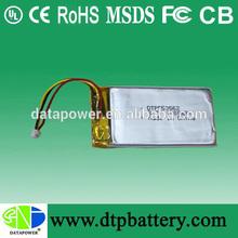 recycle li-ion battery 3.7v 1000mah polymer li-ion battery