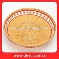 O círculo bonito de bambu jantar Buffet Utinsil cesta de casamento decoração