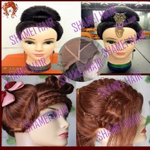 NEW DESIGN Luxurious Wnique Peruvian Full Lace Party Wig