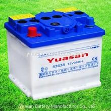 Yuasan Super DIN 12V 36AH Lead Acid Auto Battery Dry Car Battery -53638