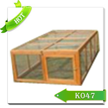 2015 New wooden rabbit cage/rabbit hutch/hot sale rabbit cages