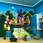 (W1-00016) flower wall paper design 3d wall mural