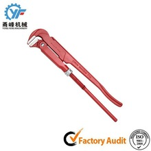 Promotional Straight Handle bent nose pipe Wrench