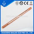 de alta conductor de cobre de puesta a tierra de soldadura de la barra para cerca eléctrica