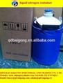 Blanco& color gris pequeños contenedores de nitrógeno líquido