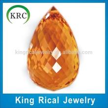Synthetic corundum price teardrop Corundum Gems,Ruby 5mm*7.5mm-10mm*15mm Corundum Loose Pendant
