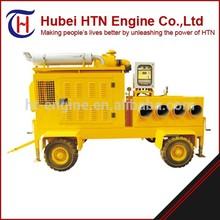 trailer mounted diesel high pressure water pump for dewatering