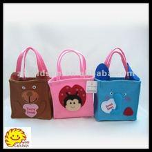 "6"" Valentine day felt bag decoration"