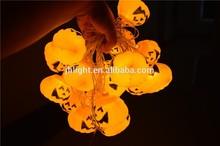 LED Halloween string light, umpkins lights, pumpkin lanterns for Halloween