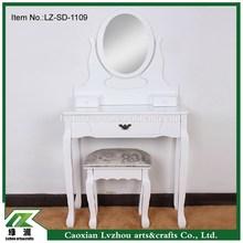 Dresser/Dressing Table with mirror /Bedroom Furniture/Wooden Dresser
