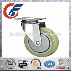 High Quality Plate Swivel Caster wheel, Castor Wheels For Medical Furniture
