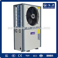 Denmark -20C winter 150sq meter house floor heating +55C hot water19kw/35kw/70kw/105kw evi eco therma multifunctional heat pump