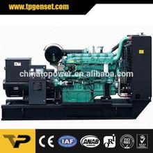 Open Yuchai 135kva diesel generator for industry in Manufacturing in Shanghai