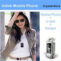 2012 new arrival USB mini luxury mobile phone (EC107S)