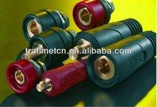 Conector del cable para soldadura importados de italia, Trafimet