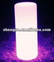 plastic LED outdoor decoration cylinder light