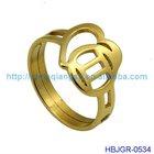new stainless steel zodiac ring jewelry