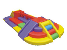 2012 newest sponge playground soft play for kids with CE certificate