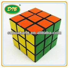promotional magic cube with full color printing/plastic puzzle game