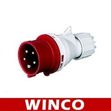 industrial plug with socket 015