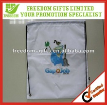Well Quality Promotional Drawstring Shopping Bag